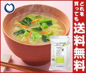 【送料無料】 アマノフーズ フリーズドライ 業務用 野菜みそ汁 GY-30 30食×1袋入 ※北海道・沖縄・離島は別途送料が必要。