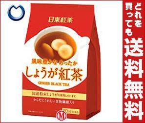 【送料無料】 三井農林 日東紅茶 しょうが紅茶 10g×10本×24個入 ※北海道・沖縄・離島は別途送料が必要。