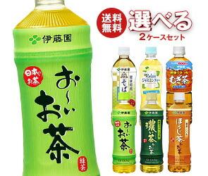 【送料無料】 伊藤園 茶飲料 選べる2ケースセット 48(24×2)本入 ※北海道・沖縄・離島は別途送料が必要。