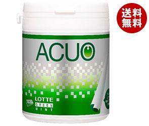 【送料無料】 ロッテ ACUO グリーンミント ファミリーボトル 140g×6個入 ※北海道・沖縄・離島は別途送料が必要。