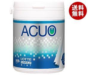 【送料無料】 ロッテ ACUO クリアブルーミント ファミリーボトル 140g×6個入 ※北海道・沖縄・離島は別途送料が必要。