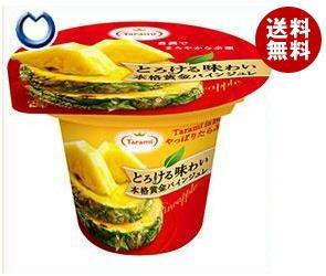 【送料無料】 たらみ とろける味わい 黄金パインジュレ 210g×18(6×3)個入 ※北海道・沖縄・離島は別途送料が必要。