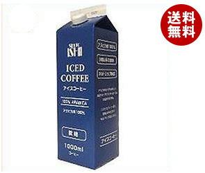 【送料無料】 成城石井 アイスコーヒー 微糖 1000ml紙パック×12本入 ※北海道・沖縄・離島は別途送料が必要。