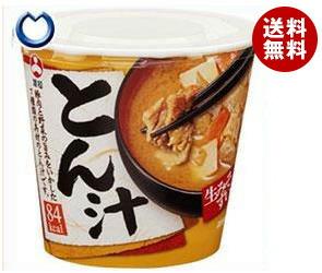 【送料無料】 旭松食品 カップ生みそずい とん汁 75g×6個入 ※北海道・沖縄・離島は別途送料が必要。