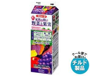 【送料無料】 【チルド(冷蔵)商品】 スジャータ 家族の潤い 紫の野菜と果実 1000ml紙パック×6本入 ※北海道・沖縄・離島は別途送料が必要。