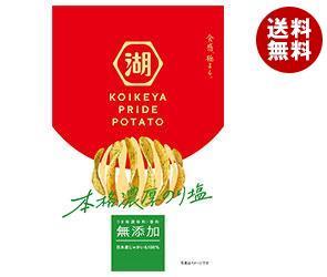 【送料無料】 コイケヤ KOIKEYA PRIDE POTATO (コイケヤプライドポテト) 本格濃厚のり塩 60g×12袋入 ※北海道・沖縄・離島は別途送料が必要。