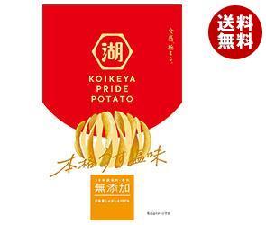 【送料無料】 コイケヤ PRIDEPOTATO (プライドポテト) 松茸香る極みだし塩 63g×12個入 ※北海道・沖縄・離島は別途送料が必要。