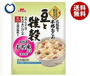 【送料無料】 イチビキ らくらく炊きたておこわ 豆と雑穀 385g×6袋入 ※北海道・沖縄・離島は別途送料が必要。