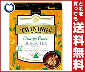 【送料無料】 片岡物産 トワイニング オレンジグローブ ブラックティ- 2.5g×8袋×12(2×6)個入 ※北海道・沖縄・離島は別途送料が必要。