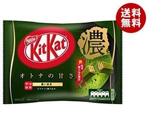 【送料無料】 ネスレ日本 キットカット ミニ オトナの甘さ濃い抹茶 12枚×12袋入 ※北海道・沖縄・離島は別途送料が必要。