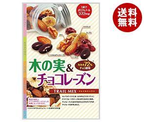 【送料無料】 共立食品 木の実&チョコレーズン (トレイルミックス) 60g×10袋入 ※北海道・沖縄・離島は別途送料が必要。