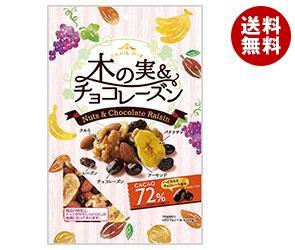【送料無料】 共立食品 木の実&チョコレーズン (トレイルミックス)徳用 140g×10袋入 ※北海道・沖縄・離島は別途送料が必要。