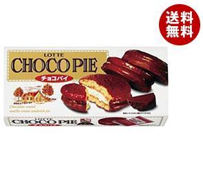 【送料無料】【2ケースセット】 ロッテ チョコパイ 6個×5箱入×(2ケース) ※北海道・沖縄・離島は別途送料が必要。