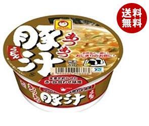 【送料無料】 東洋水産 マルちゃん アツアツまめ豚汁うどん 49g×12個入 ※北海道・沖縄・離島は別途送料が必要。