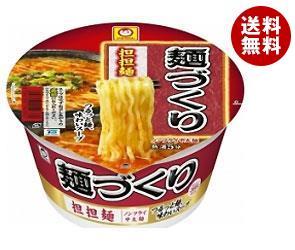 【送料無料】 東洋水産 マルちゃん 麺づくり 担担麺 110g×12個入 ※北海道・沖縄・離島は別途送料が必要。