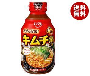 【送料無料】 エバラ食品 キムチ鍋の素 300ml×12本入 ※北海道・沖縄・離島は別途送料が必要。