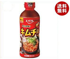 【送料無料】 エバラ食品 キムチ鍋の素 500ml×12本入 ※北海道・沖縄・離島は別途送料が必要。