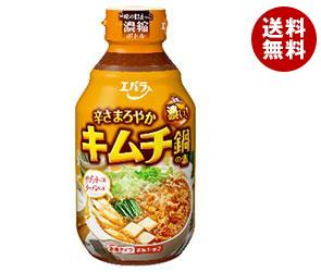 【送料無料】 エバラ食品 キムチ鍋の素まろやか 300ml×12本入 ※北海道・沖縄・離島は別途送料が必要。