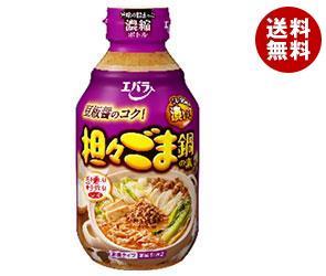【送料無料】 エバラ食品 担々ごま鍋の素 300ml×12本入 ※北海道・沖縄・離島は別途送料が必要。