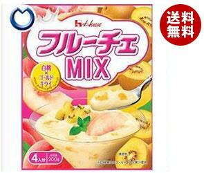 【送料無料】【2ケースセット】 ハウス食品 フルーチェMIX 白桃×ゴールドキウイ 200g×30個入×(2ケース) ※北海道・沖縄・離島は別途送料が必要。
