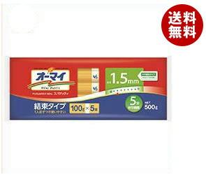 【送料無料】 日本製粉 オーマイ スパゲッティ1.5mm結束タイプ 500g×20袋入 ※北海道・沖縄・離島は別途送料が必要。