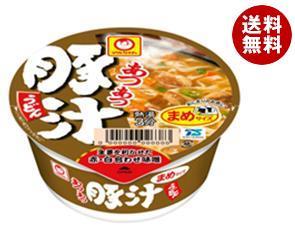 【送料無料】 東洋水産 マルちゃん あつあつまめ豚汁うどん 49g×12個入 ※北海道・沖縄・離島は別途送料が必要。