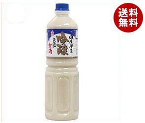【送料無料】 ヤマク食品 吟醸甘酒 無添加 1Lペットボトル×6本入 ※北海道・沖縄・離島は別途送料が必要。