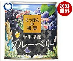 【送料無料】 国分 K&K にっぽんの果実 ブルーベリー 185g×12個入 ※北海道・沖縄・離島は別途送料が必要。