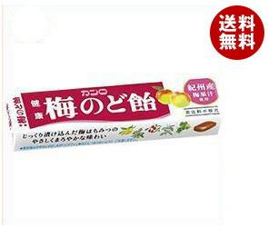 【送料無料】 カンロ 健康梅のど飴 スティックタイプ 11粒×10個入 ※北海道・沖縄・離島は別途送料が必要。