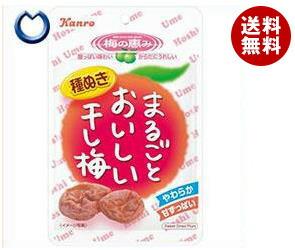 【送料無料】 カンロ まるごとおいしい干し梅 19g×12袋入 ※北海道・沖縄・離島は別途送料が必要。