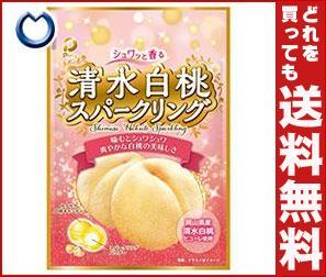 【送料無料】 パイン 清水白桃スパークリング 80g×10袋入 ※北海道・沖縄・離島は別途送料が必要。