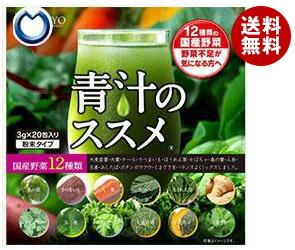 【送料無料】 健翔 12種類の国産野菜 青汁のススメ (3g×20包)×2袋入 ※北海道・沖縄・離島は別途送料が必要。