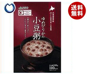 送料無料 JAふらの ゆめぴりかの小豆粥 220g×30(5×6)袋入 ※北海道・沖縄・離島は別途送料が必要。