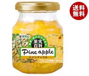 送料無料 カンピー 果実百科パインアップル 190g瓶×12個入 ※北海道・沖縄・離島は別途送料が必要。