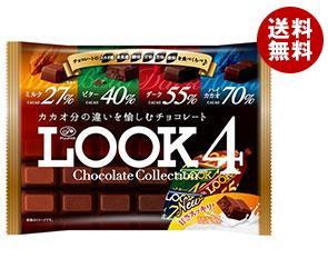 【送料無料】 不二家 LOOK4(ルック4) チョコレートコレクション ファミリーパック 185g×12袋入 ※北海道・沖縄・離島は別途送料が必要。