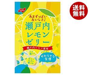 【送料無料】 ノーベル製菓 瀬戸内レモンゼリー 180g×6袋入 ※北海道・沖縄・離島は別途送料が必要。
