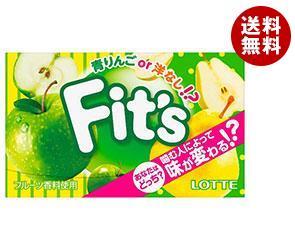 【送料無料】 ロッテ Fit's 青りんごor洋なし 12枚×10個入 ※北海道・沖縄・離島は別途送料が必要。