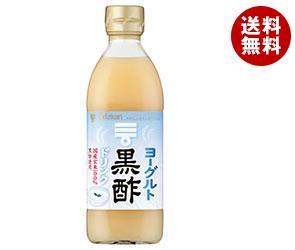 【送料無料】 ミツカン ヨーグルト黒酢 500ml瓶×6本入 ※北海道・沖縄・離島は別途送料が必要。
