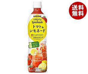【送料無料】 カゴメ トマト&レモネード 720mlペットボトル×15本入 ※北海道・沖縄・離島は別途送料が必要。