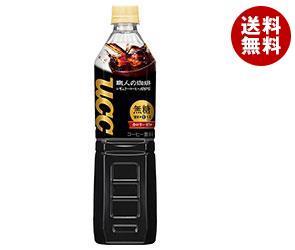 【送料無料】 UCC 職人の珈琲 無糖 930mlペットボトル×12本入 ※北海道・沖縄・離島は別途送料が必要。