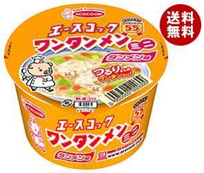 【送料無料】 エースコック ミニワンタンメン タンメン味 40g×24(12×2)個入 ※北海道・沖縄・離島は別途送料が必要。