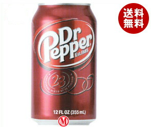 【送料無料】 シーエフシージャパン ドクターペッパー 355ml缶×24本入 ※北海道・沖縄・離島は別途送料が必要。