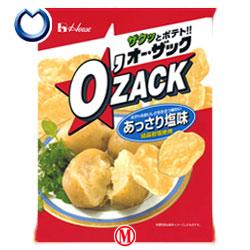 【送料無料】 ハウス食品 オーザック(あっさり塩) 68g×24入 ※北海道・沖縄・離島は別途送料が必要。