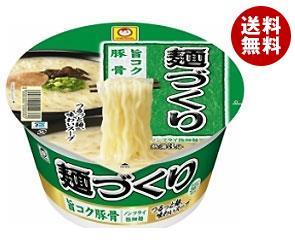 【送料無料】 東洋水産 マルちゃん 麺づくり 旨コク豚骨 87g×12個入 ※北海道・沖縄・離島は別途送料が必要。