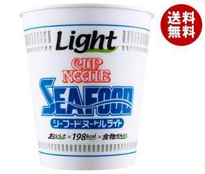 【送料無料】 日清食品 カップヌードル シーフードヌードル ライト 57g×12個入