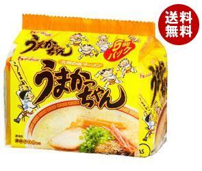 【送料無料】 ハウス食品 九州の味ラーメン うまかっちゃん 5食パック×6個入 ※北海道・沖縄・離島は別途送料が必要。