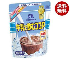 【送料無料】【2ケースセット】 森永製菓 牛乳で飲むココア 200g袋×24(12×2)袋入×(2ケース) ※北海道・沖縄・離島は別途送料が必要。