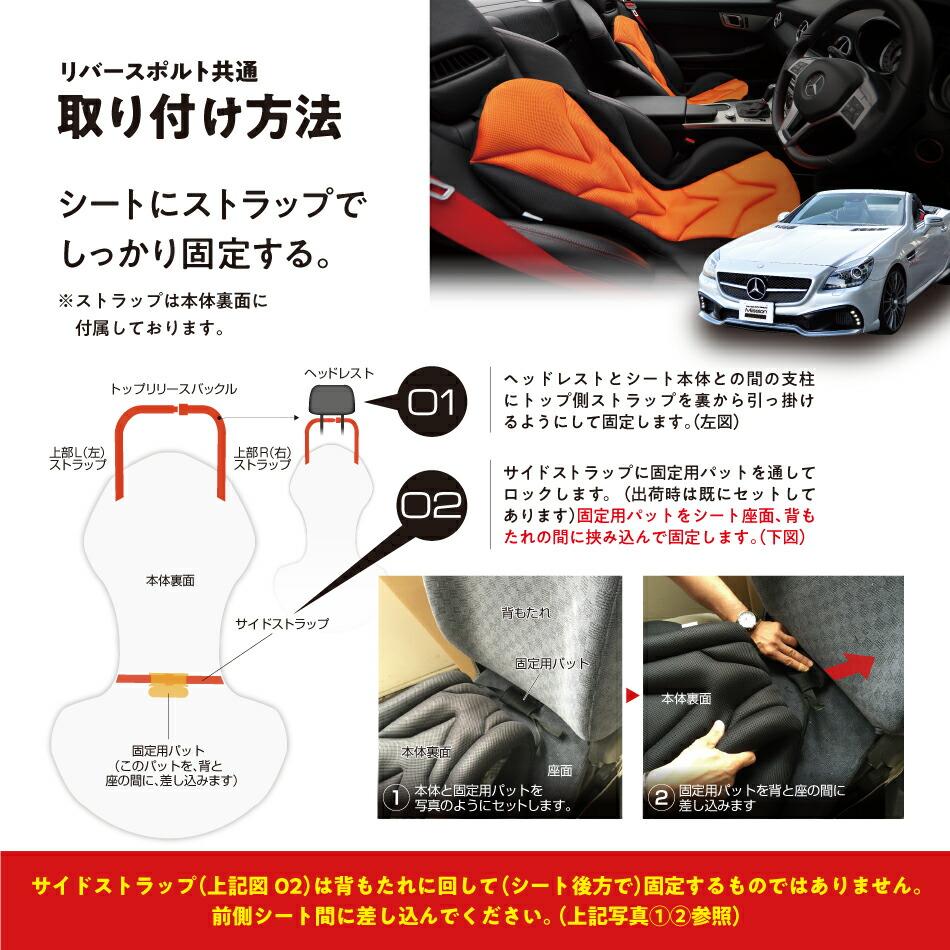 取扱説明 SLK メルセデス 運転席 シート ドライバーズシート 車内カスタム 座面 背面 ストラップ ドライブ