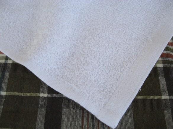 業務用定番おしぼり 120匁 白平織 30×37 1200枚セット