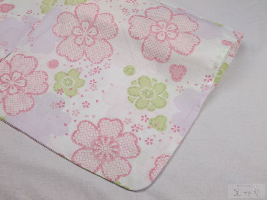 井伊谷四季の旅館浴衣 遠江の桜